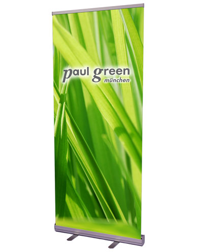 Blickstoff - Werbedisplay Roll-Up Eco Bild 1