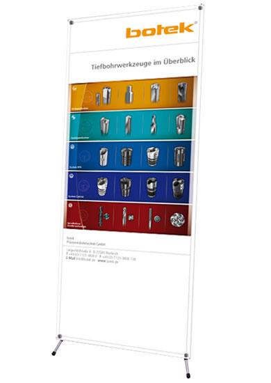 Blickstoff - Werbedisplay X-Banner Bild 1