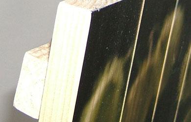 Blickstoff - Druck auf Holz Bild 2
