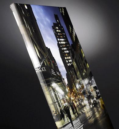 Blickstoff - Fotoleinwand Bild 1