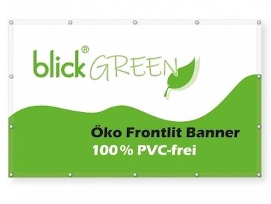 Blickstoff - Öko Frontlit Banner Bild 1