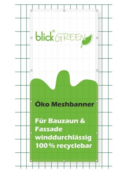 Blickstoff - Öko Mesh Banner Bild 1
