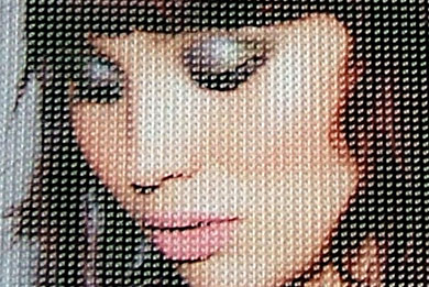 Blickstoff Mesh-Werbebanner Detail Bild 4