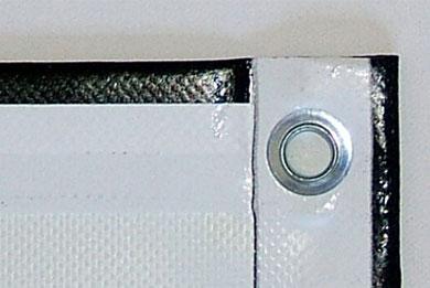 Blickstoff PVC-Werbebanner Detail Bild 2