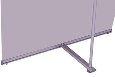 Blickstoff Werbedisplay L-Banner Detail Bild 3