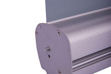 Blickstoff Werbedisplay Roll-Up Eco Detail Bild 4