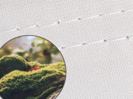 Blickstoff Öko Frontlit Detail Bild 4